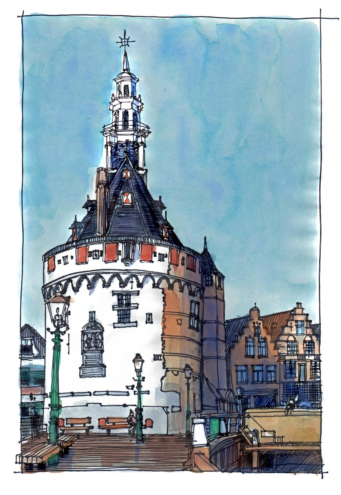 hoofdtoren Hoorn